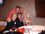 The Friday night party.  Pete Pfeiffer, Bill Whitney, Marilyn Else, Sue Johnson, Cathie Erickson. What a great time we h