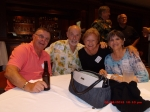 More Friday Night fun!  Terry Stodola, Dave Trelease (Marilyn's husband) Marilyn Else, and Barb Gilbertson (Terry's ma